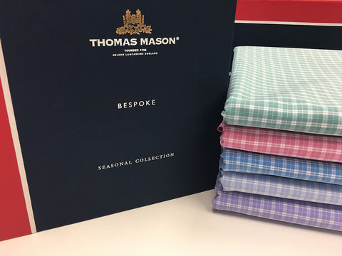 Budd | Made to Measure Shirt | Thomas Mason Cotton | Silver | St James | White-MTM Shirt-Sterling-and-Burke