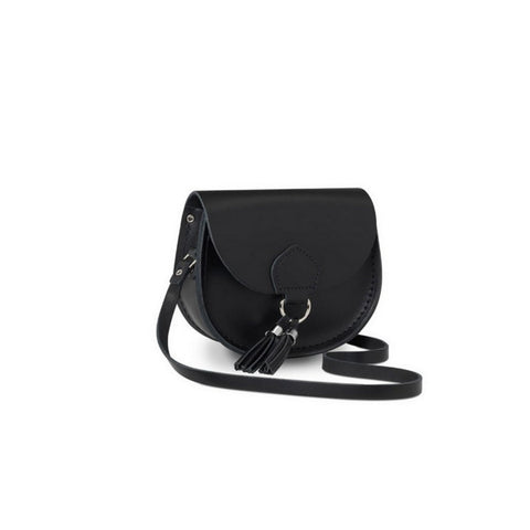 The Mini Tassel Bag, Black
