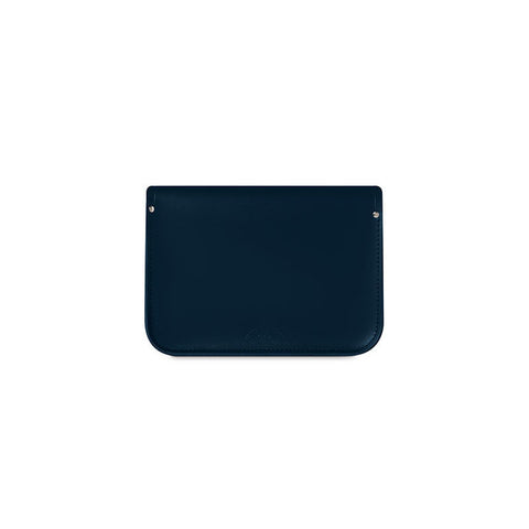 11 Inch Satchel with Magnetic Closure, Navy-Satchel-Sterling-and-Burke