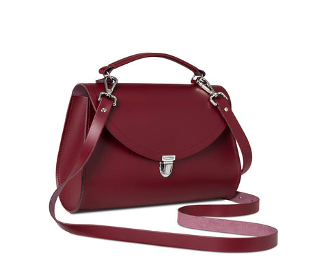 Poppy Handbag, Rhubarb Red