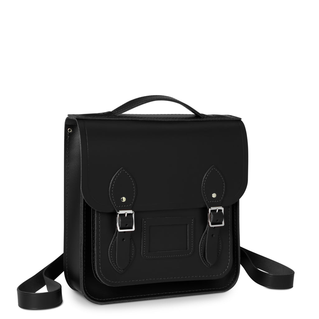 Small Portrait Backpack, Black-Backpack-Sterling-and-Burke