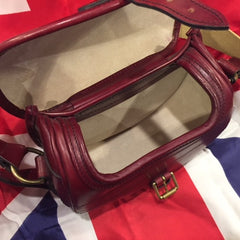 Cartridge Bag | Hunting Handbag | English Bridle Hide | Hand-stitched | Made in England-Cartridge Bag-Sterling-and-Burke
