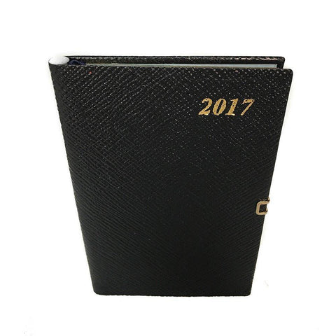 2019 Diary, 5 by 3 | Crossgrain | Pencil & Clasp-Calendar-Sterling-and-Burke