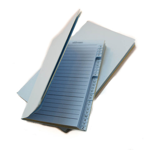 Diary Removable Address Section, 5 by 3 Inches