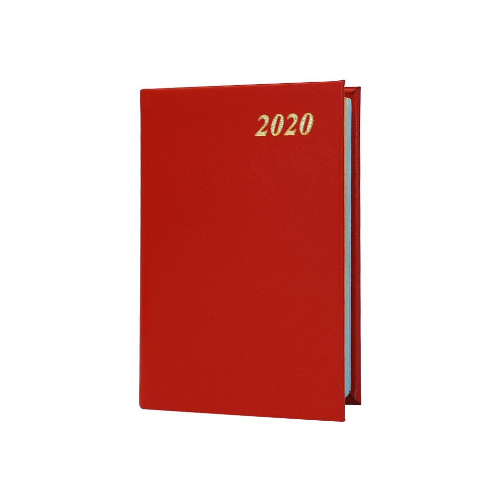 "2020 4"" Bonded Leather Pocket Calendar 