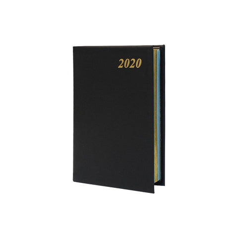 "2020 4"" Calf Leather Pocket Calendar, 4x2 