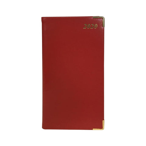 "2020 6"" Bonded Leather Pocket Calendar 