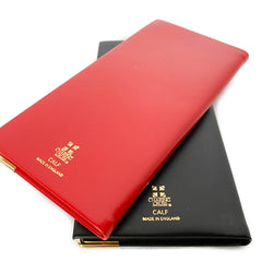 "Charing Cross 2021 6"" Calf Leather Pocket Calendar in Scarlet-Calendar-Sterling-and-Burke"