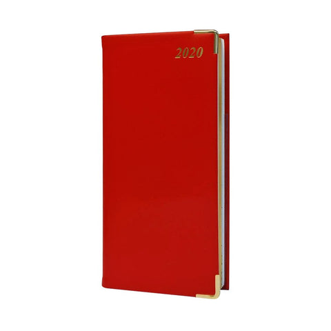 "2020 6"" Calf Leather Pocket Calendar 