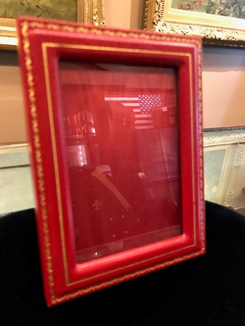 "Charing Cross Picture Frame | With Gold Tooling | 6"" by 4""-Picture Frame-Sterling-and-Burke"