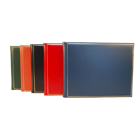Guest Book | Fine Calf Leather Binding | Gold Tooling | 7 by 9 Inches | Guests