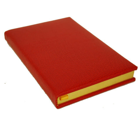 Buffalo Calf Notebook, 7 by 4 Inches with Lined Pages