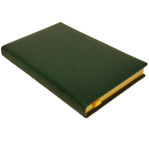 Buffalo Calf Notebook, 7 by 4 Inches with Lined Pages-Notebooks-Sterling-and-Burke