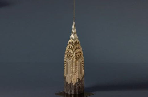 Limited Edition Chrysler Building Sculpture | Custom Chrysler Building Plaster Model | Extraordinary Quality and Detail | Made in England | Timothy Richards