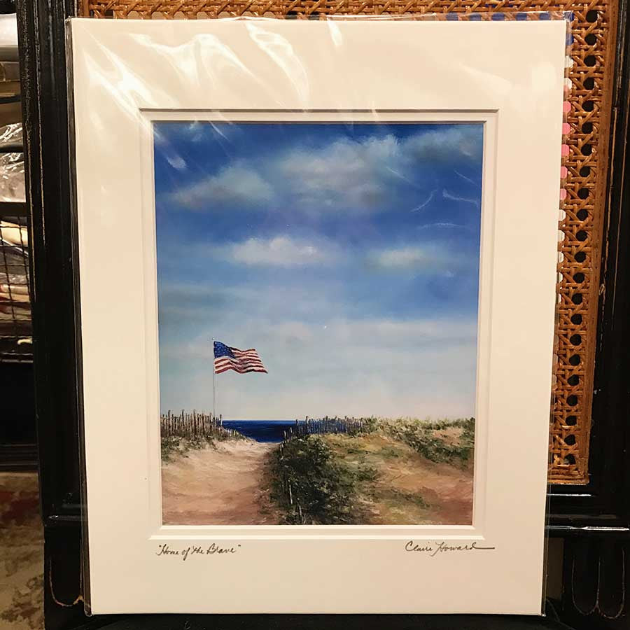 Home of the Brave Print, 11 by 14 Inches-Giclee Print-Sterling-and-Burke