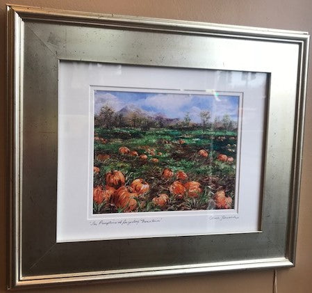 "Art | The Pumpkins of Sugarloaf Mountain | Giclee by Claire Howard | 16.5"" x 19""-Giclee Print-Sterling-and-Burke"