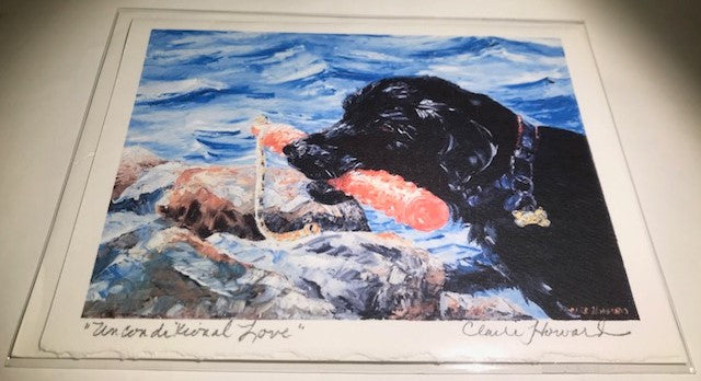 Unconditional Love | Hand Signed | 5 by 7 Inches | Claire Howard-Greeting Cards-Sterling-and-Burke