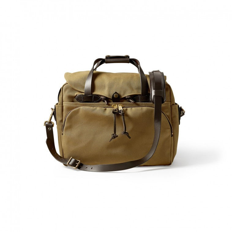 Padded Computer Bag | Multiple Colors | Made in America | FILSON-Brief Bag-Sterling-and-Burke
