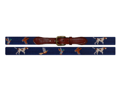 Needlepoint Collection | Bird Dog Needlepoint Belt | Smathers and Branson