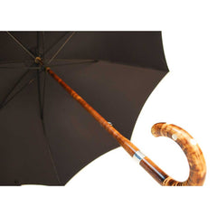 Maple Gent's Umbrella with Inlaid Mother of Pearl Inserts-Gent's Umbrella-Sterling-and-Burke
