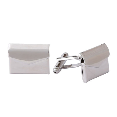 Novelty Cufflinks | Envelope Cufflinks | Silver | Sterling and Burke | Made in USA