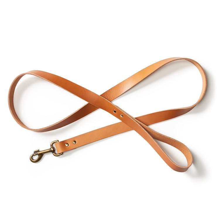 Leather Dog Leash | Tan | Filson | Made in USA-Dog Accessories-Sterling-and-Burke