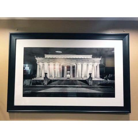 "Art | Lincoln Memorial At Night by Frank Lee Ruggles | 22.5"" x 33.5"""
