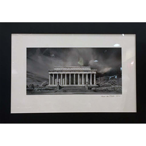 "Art | Lincoln Memorial by Frank Lee Ruggles | 19"" x 28"""