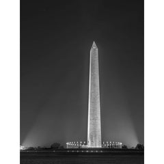 "Washington Monument at Night | Photograph by Frank Lee Ruggles | 36.5"" x 28""-Photography-Sterling-and-Burke"