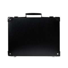 "Globe-Trotter Centenary 16"" Slim Attache Case in Black-Attache-Sterling-and-Burke"