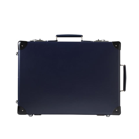 "Globe-Trotter Original 20"" Trolley Suitcase in Navy"
