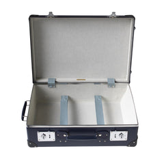 "Globe-Trotter Original 20"" Trolley Suitcase in Navy-Suitcase-Sterling-and-Burke"