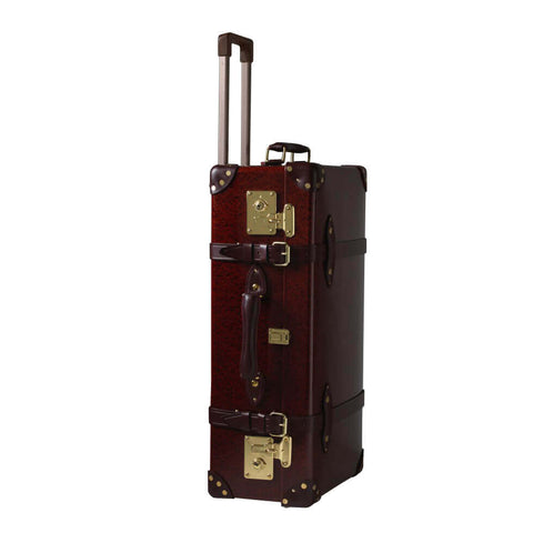 "Globe-Trotter Original 26"" Special Edition Trolley Suitcase-Suitcase-Sterling-and-Burke"