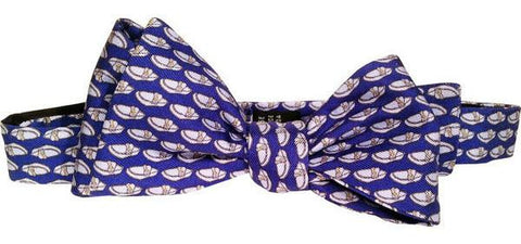 """Wall Street Cruiser"" Silk Bowtie-Bow Tie-Sterling-and-Burke"