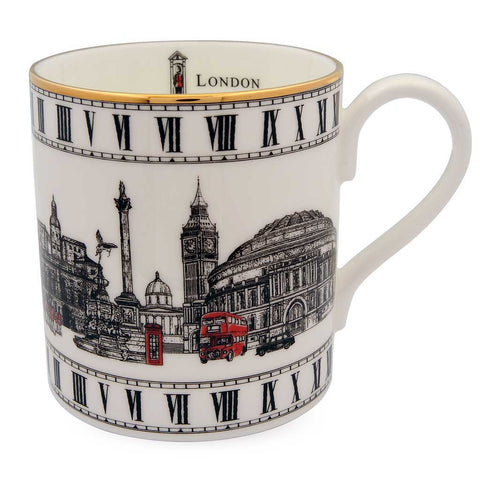 Halcyon Days London Icons Mug-Bone China-Sterling-and-Burke