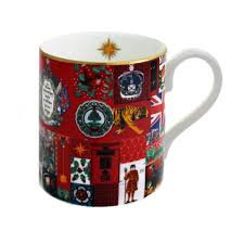 Fine English Bone China | Glorious Christmas Mug | Halcyon Days | Made in England