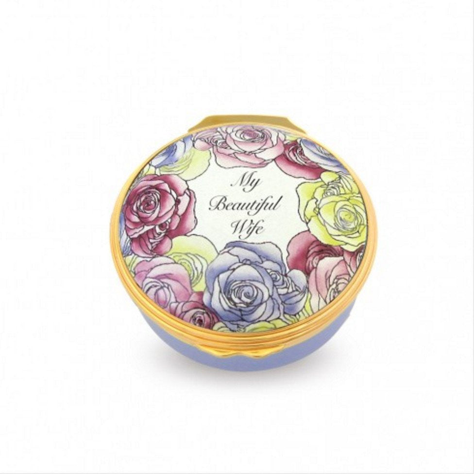 My Beautiful Wife, Enamel Box-Enamel Box-Sterling-and-Burke