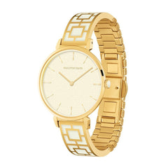 Maya Watch, Cream and Gold-Ladies Watch-Sterling-and-Burke