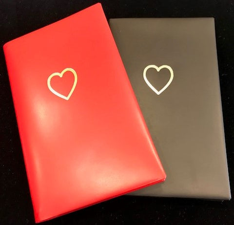 Heart Address Book, 5 by 3 Inches