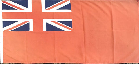 "Vintage Flag | British Flag | 21"" x 47"" Unframed"