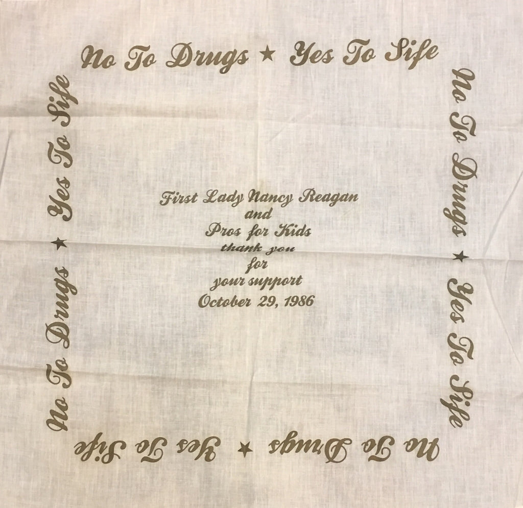 """No to Drugs, Yes to Life"" 