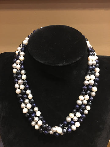 "Natural Fresh Water Pearls | Necklace | 7mm | 52"" Length 