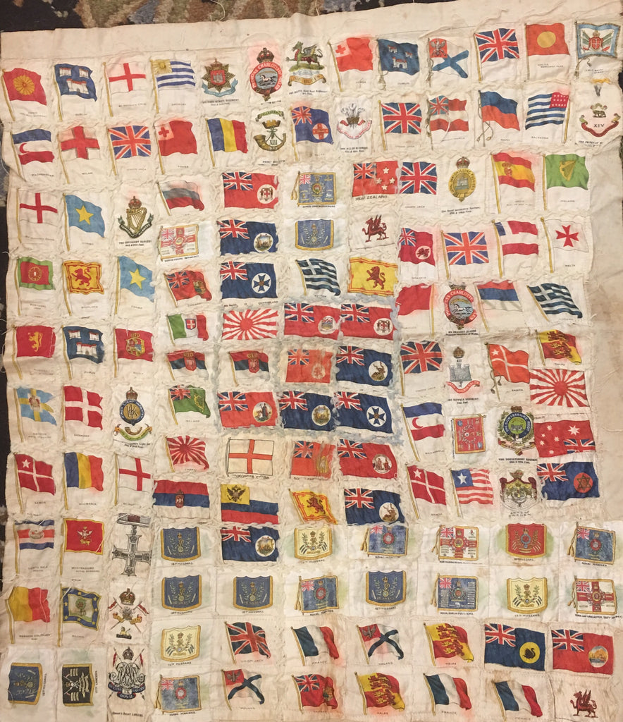 Multi-Flag Quilt | 21 by 24 Inches-Vintage Flag-Sterling-and-Burke
