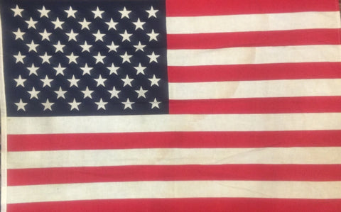 50 Star Flag, 56.5 by 37 Inches