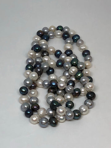 "Natural Fresh Water Pearls | Necklace 7mm | 34"" Length 