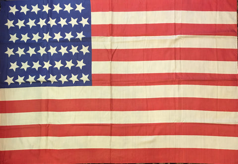 45 Star Flag, 46 by 32 Inches-Vintage Flag-Sterling-and-Burke