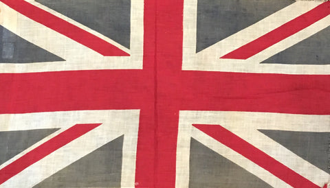 "Vintage Flag | British Made | 12"" x 16.5""-Vintage Flag-Sterling-and-Burke"