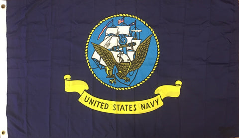 """UNITED STATES NAVY"", 59 by 35 Inches"