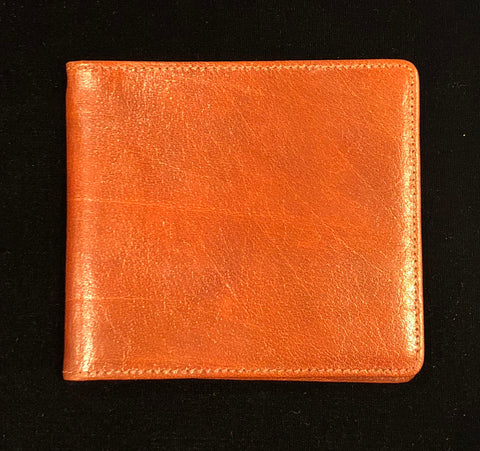 Charing Cross Medium Card Holder / Wallet | Hip Wallet with Money Clip | Highland Calf Leather | 8 Cards | Tan | Sterling and Burke