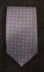 Mini Pine Paisley Madder Tie | Budd Shirtmakers | Made in England-Necktie-Sterling-and-Burke